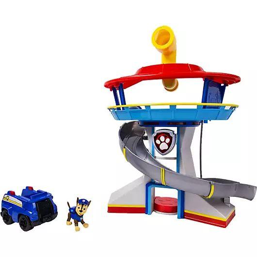 Jouet Quartier général Pat Patrouille avec figurine et véhicule Chase