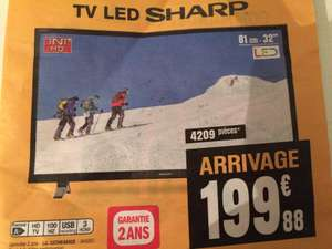 "TV 32"" Sharp LC-32CHE4042E - HDTV"