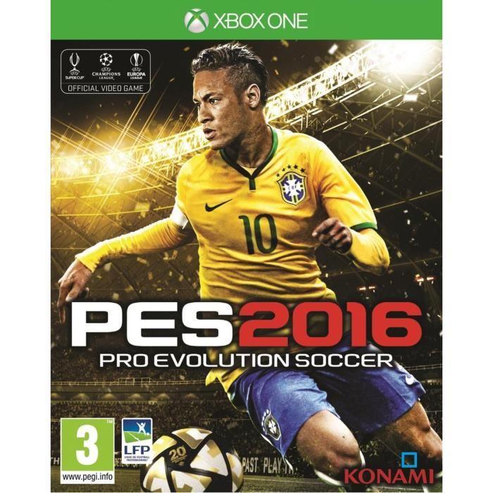 PES 2016 - Edition Day One sur Xbox One (+ 5.20€ en  Bon d'achat)