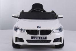 Voiture électrique pour enfant BMW GT 12V Blanche + RC