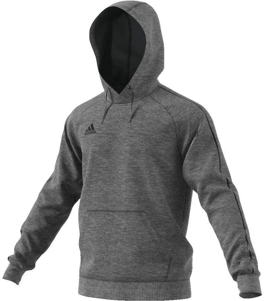Sweat à capuche homme adidas Core18 - Gris ou Noir (vendeur tiers)