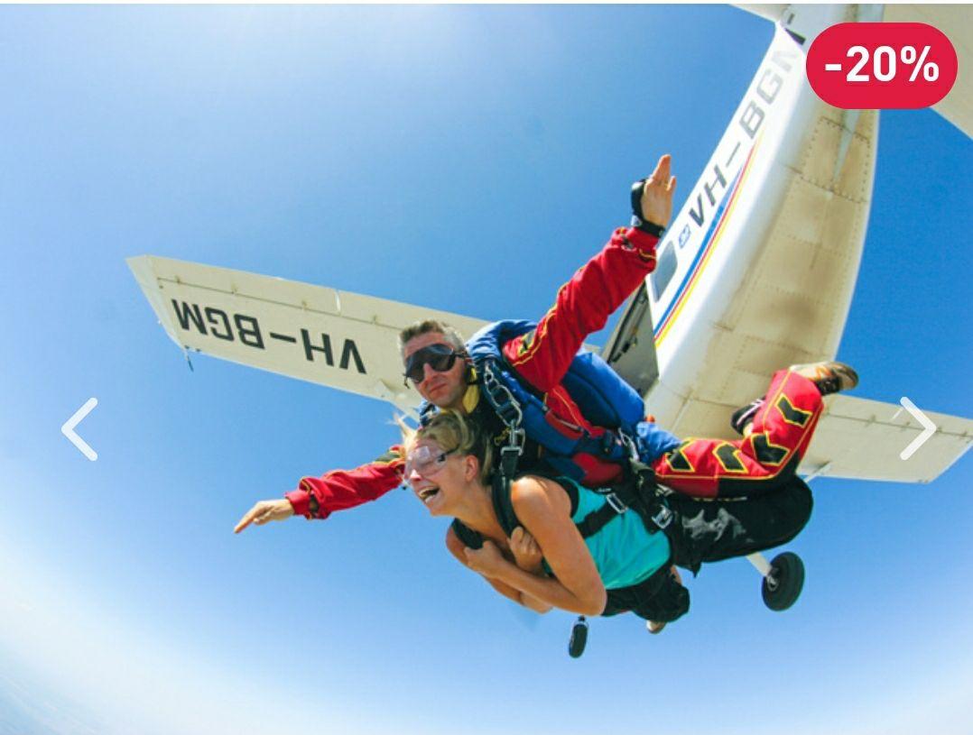 20% de réduction sur une sélection de smartbox - Ex : Saut en parachute tandem avec un instructeur