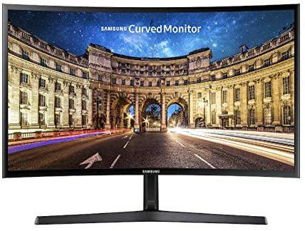 "image produit Ecran PC Incurvé 27"" Samsung C27F398FWU - Full HD, Dalle TFT VA, 60Hz"