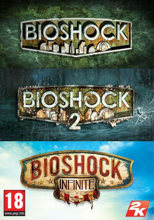 Bioshock Triple pack : Bioshock, Bioshock 2 et Bioshock Infinite (Dématérialisé-Steam) Version UK