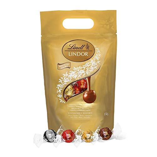 Sachet de chocolats assortis Lindt Lindor - 1 kg