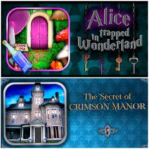 Alice Trapped in Wonderland & The Secret of Crimson Manor Gratuits sur Android