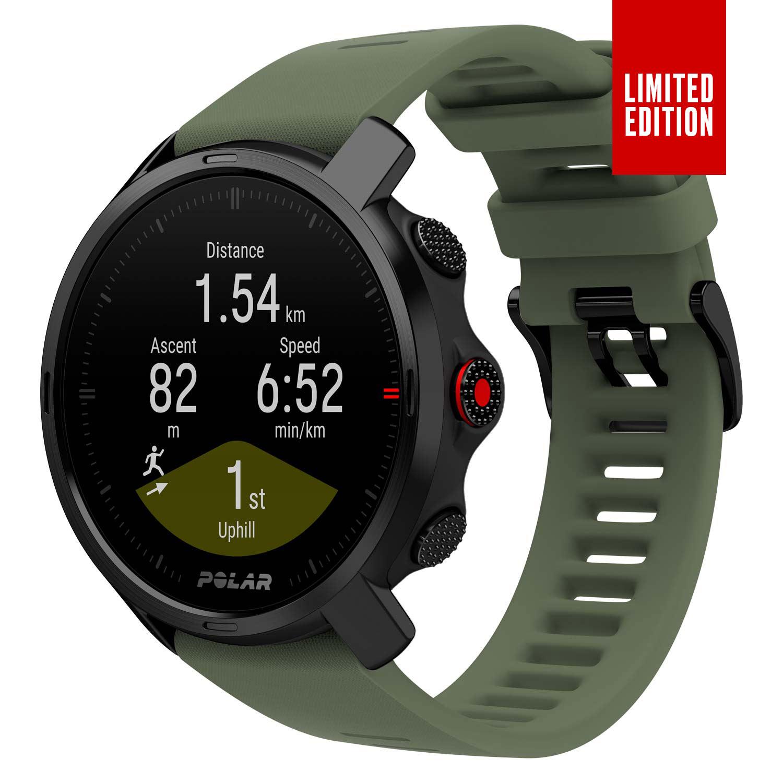 Montre connectée GPS Polar Grit X Cardio - Plusieurs coloris & tailles (polar.com)