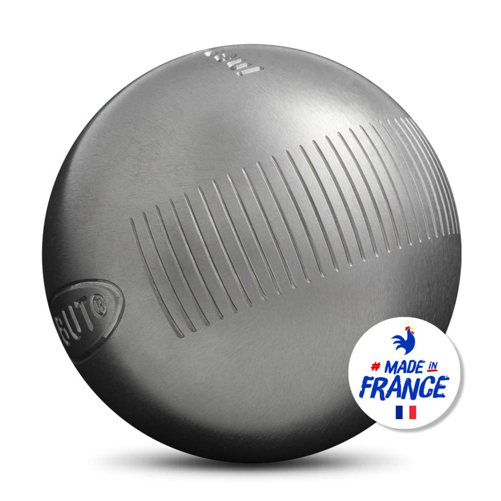 Jeu de 3 boules de pétanque Obut (Obut.com)