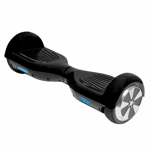 Skateboard Electrique E-skate avec auto-équilibrage - Noir