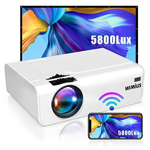 Vidéo-projecteur connecté WiMiUS - 720p, 5800 lumens (vendeur tiers)