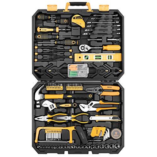 Malette à outils Deko - 168 pièces (vendeur tiers)