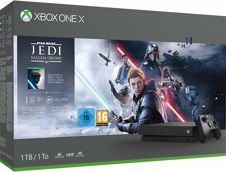 Pack Console Microsoft Xbox One X (1 To) + Star Wars Jedi Fallen Order
