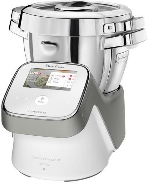 Robot de cuisine Moulinex Companion Touch XL HF936E00 - 1550 W