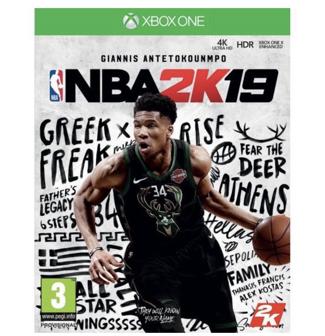 NBA 2K19 sur Xbox One