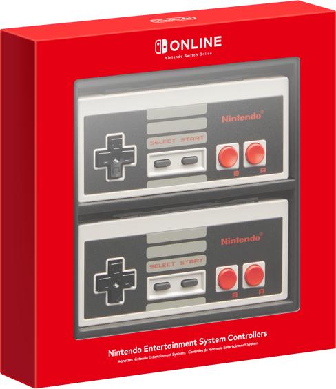 [Abonnés Nintendo Switch Online] Pack de 2 Manettes Nintendo Nes officielles pour Nintendo Switch
