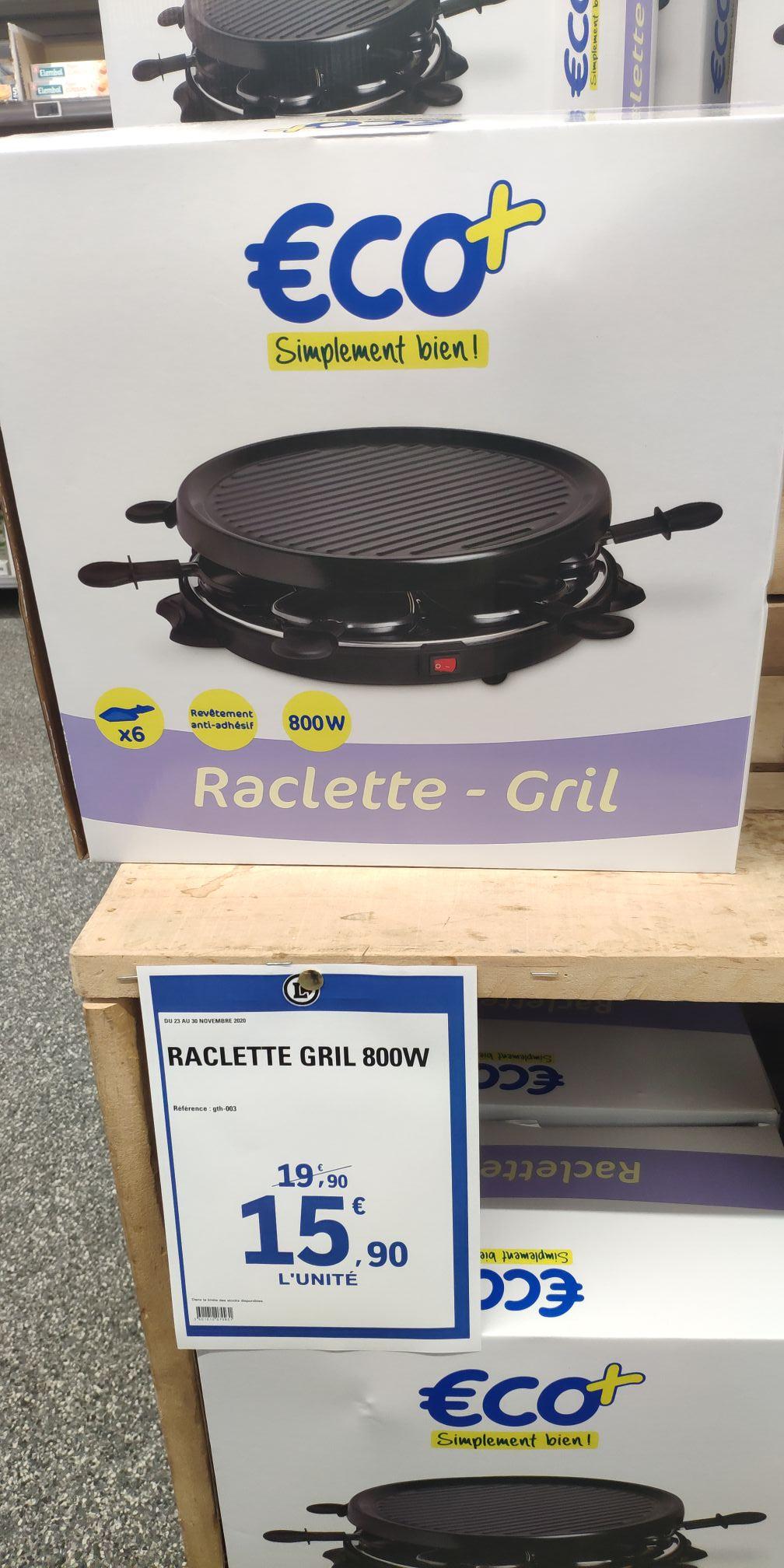 Raclette Eco+ 6 personnes - Lille Fives (59)