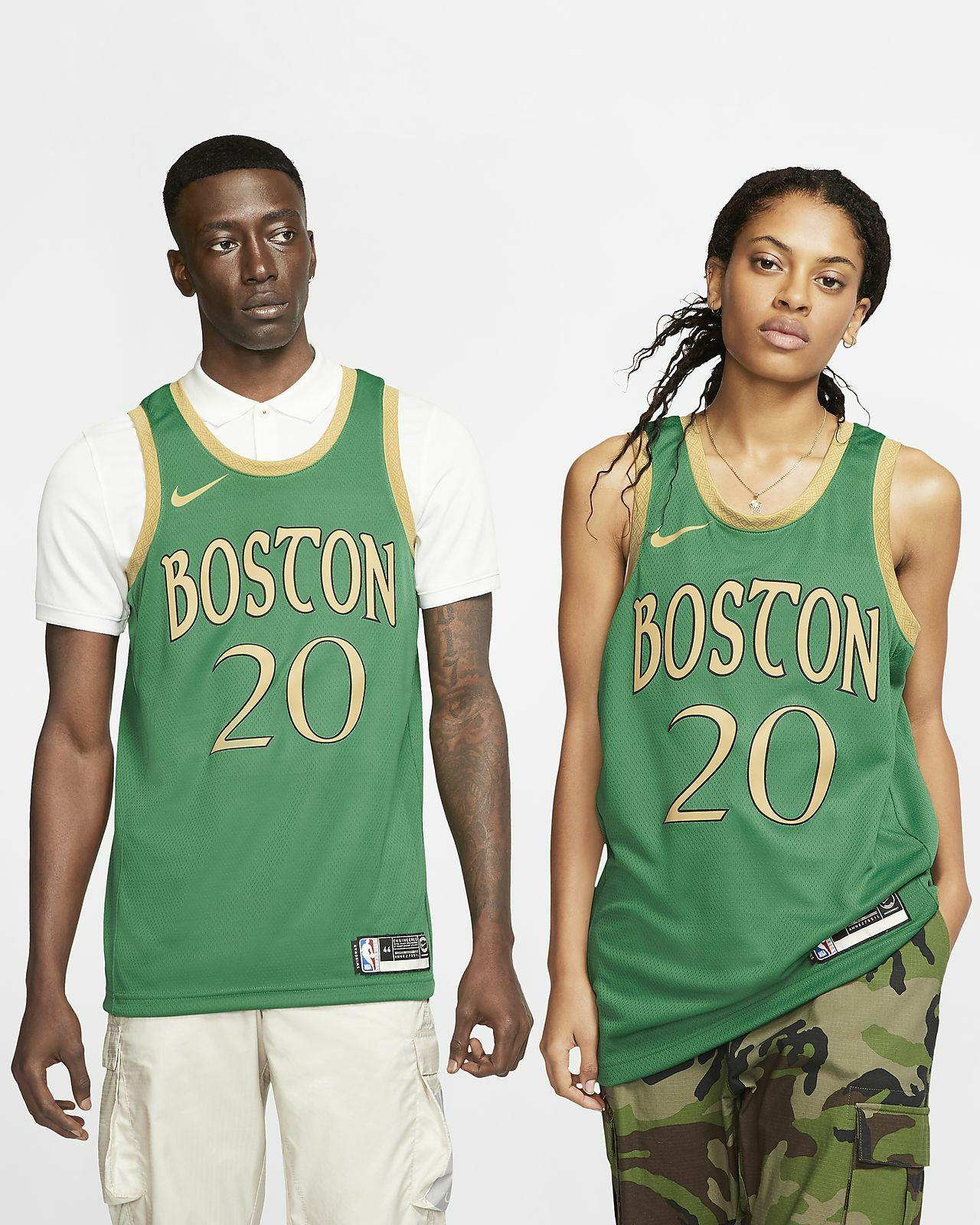 Maillot NBA Gordon Hayward Celtics - City Edition (Tailles au choix)