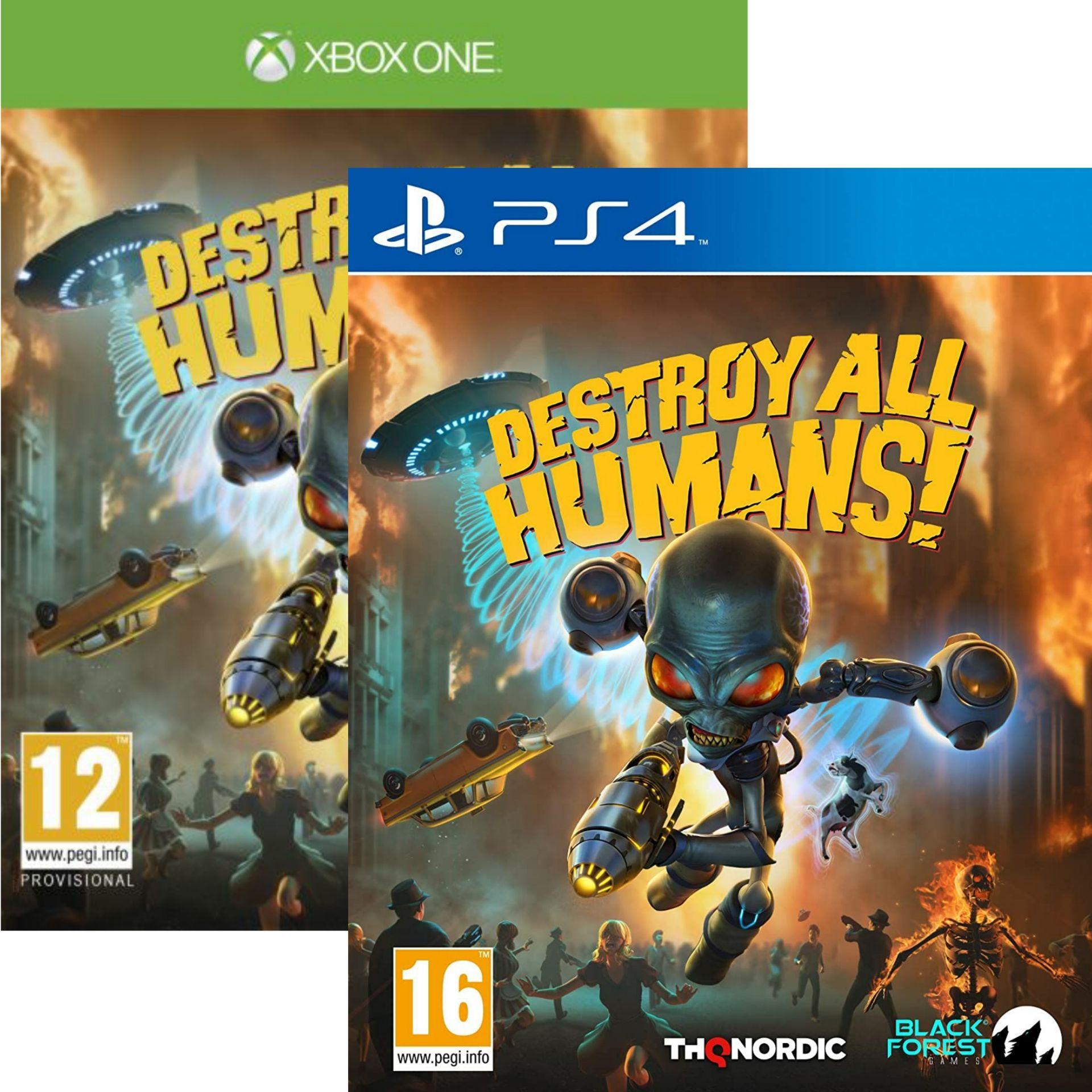 Destroy All Humans ! Sur PS4 ou Xbox One
