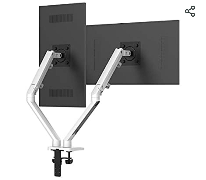 Support double écran Putorsen jusqu'à 9,5kg (Vendeur Tiers)