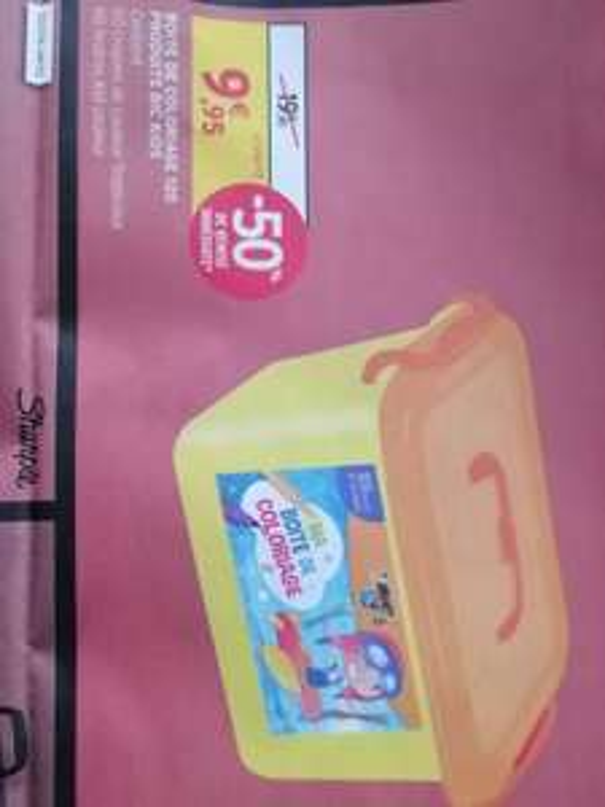 Boîte de coloriage Bic 120 crayons