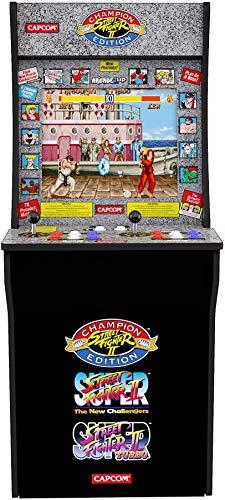 Borne d'arcade Arcade1Up Capcom Street Fighter II Champion Edition - 122 x 48 x 58 cm