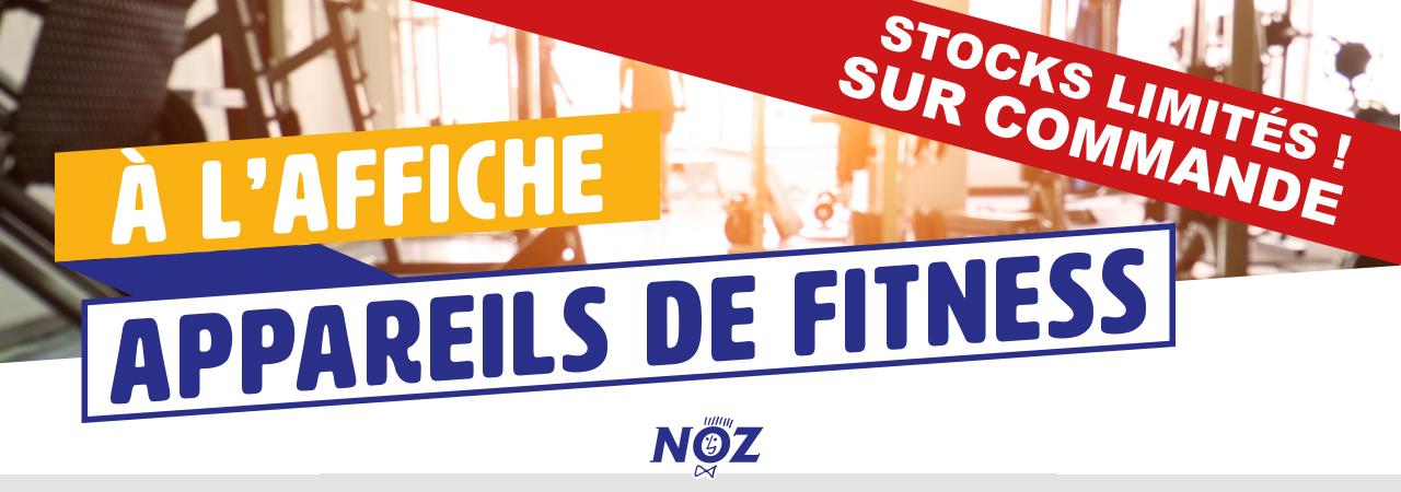 Destockage Appareils de fitness Kettler (- 50% sur bancs, rameurs, tapis de course, vélos...)