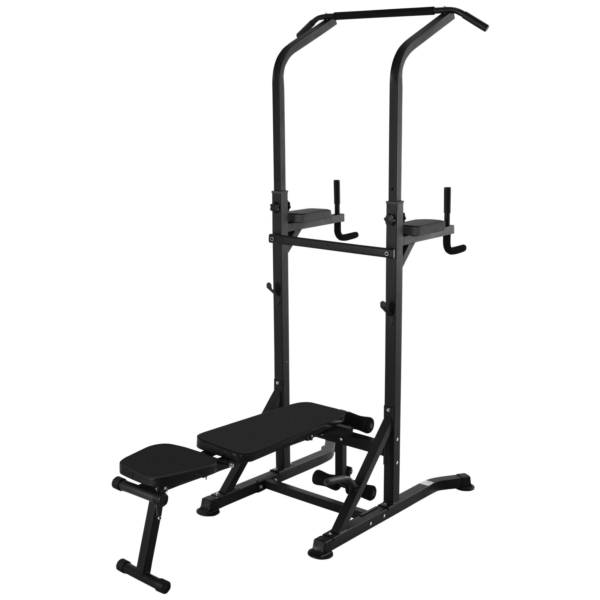 Station de musculation Fitness entrainement complet acier A91-092BK