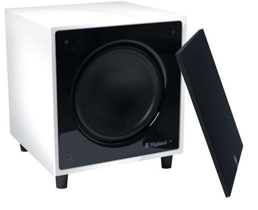 Caisson de Basse Highland Audio Dilis 440SW Blanc laqué