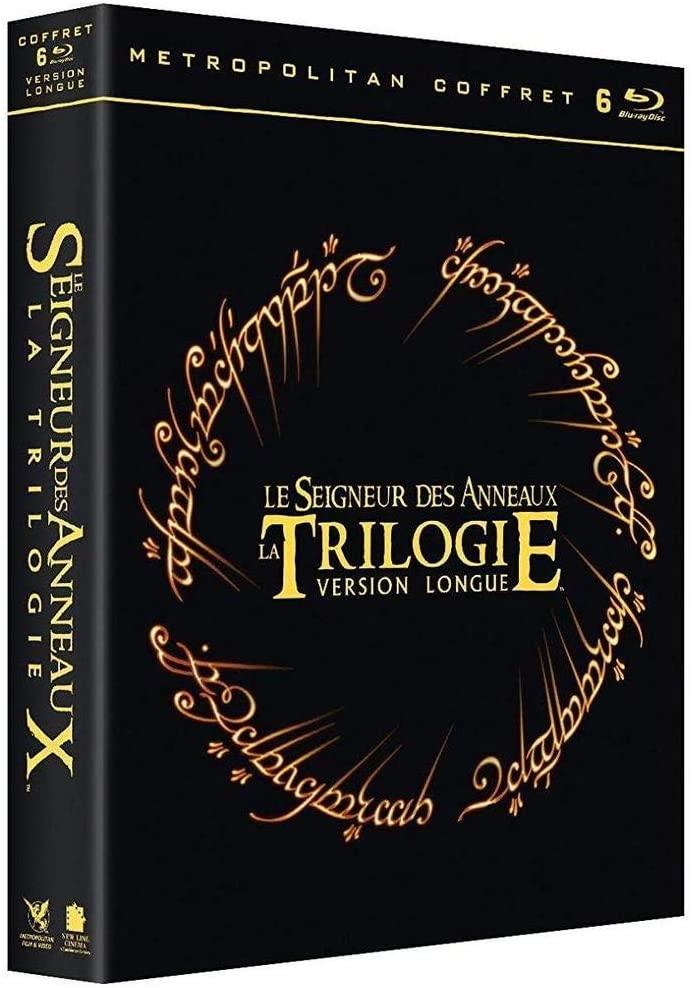 Blu-Ray : Le Seigneur des Anneaux-La trilogie - Version Longue (vendeur tiers)