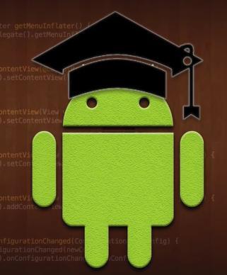 Tutoriels gratuits pour apprendre la programmation sur Android (en Anglais)