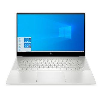 """PC Portable 15.6"""" HP Envy 15-ep0082nf - i9-10885H, 32 Go RAM, 2 To SSD, Argent naturel (+360€ en chèque cadeau pour les adhérents)"""