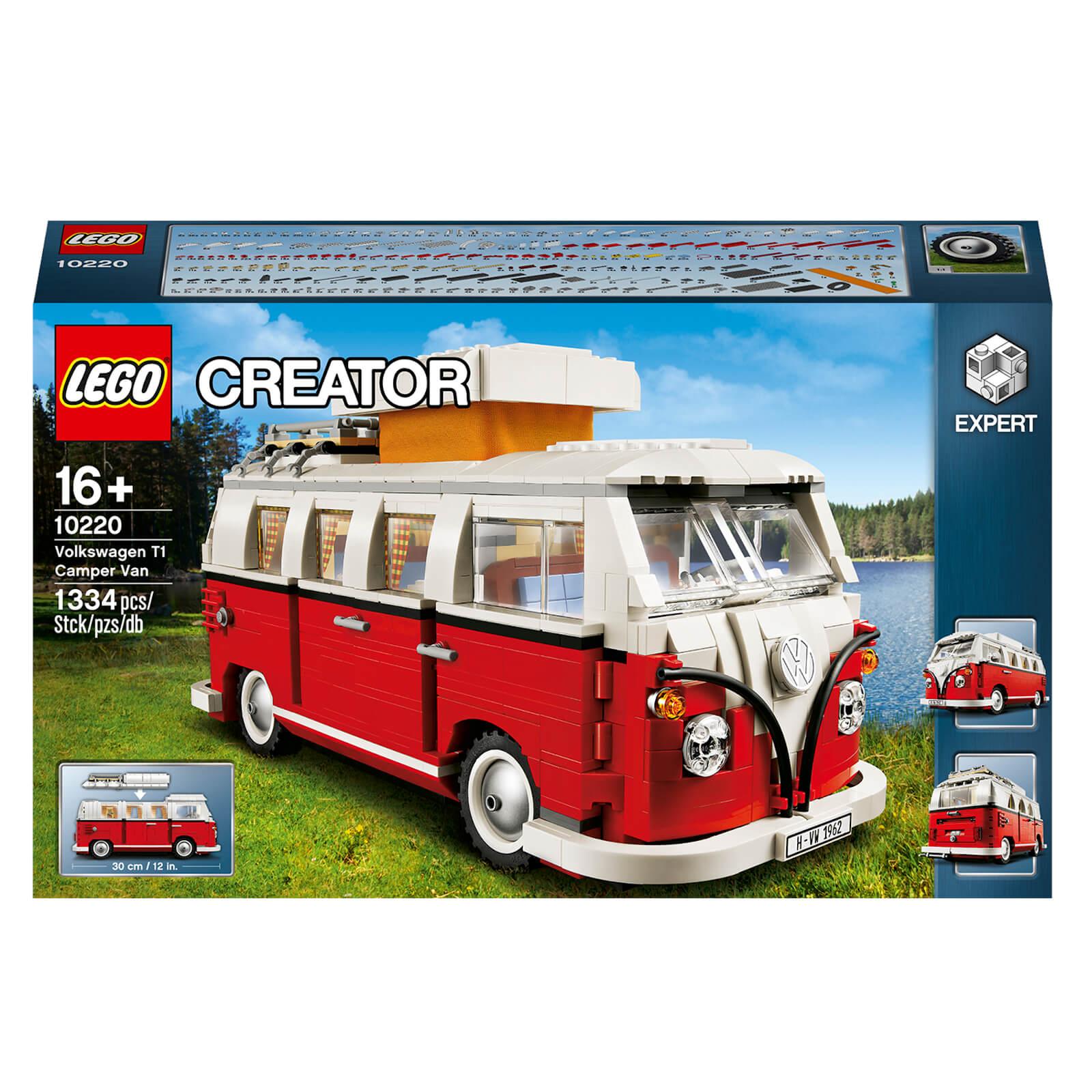 Jouet Lego Creator Expert - Le camping-car Volkswagen T1 (10220)