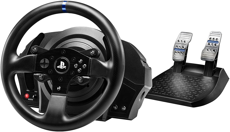 Volant Thrustmaster T300 RS avec pédalier pour PS3, PS4 ou PC