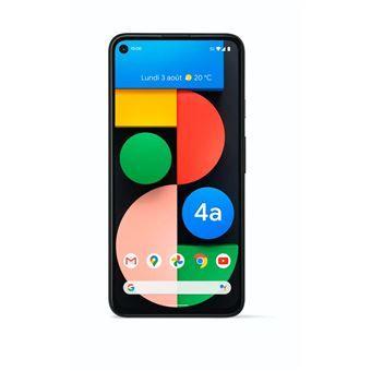 "Smartphone 6.2"" Google Pixel 4a 5G - 128 Go, Simplement Noir"