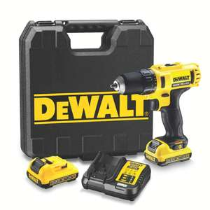 Perceuse visseuse Dewalt DCD710D2 Li-Ion XR 10.8V (2x batterie 2.0Ah) + mallette