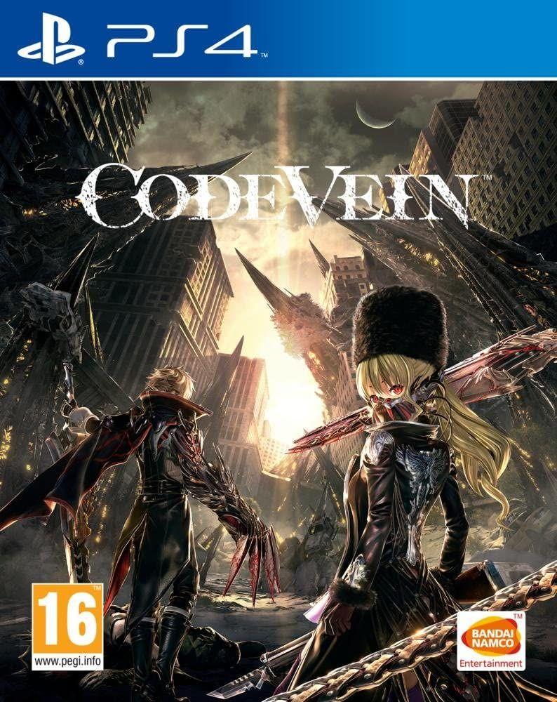 Jeu Code vein sur PS4 à 14.99€ et sur Xbox One à 13.5€