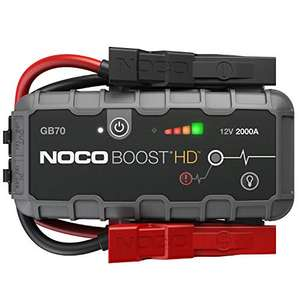 Booster Batterie Voiture et moto Noco Boost HD GB70 - 12V, 2000A