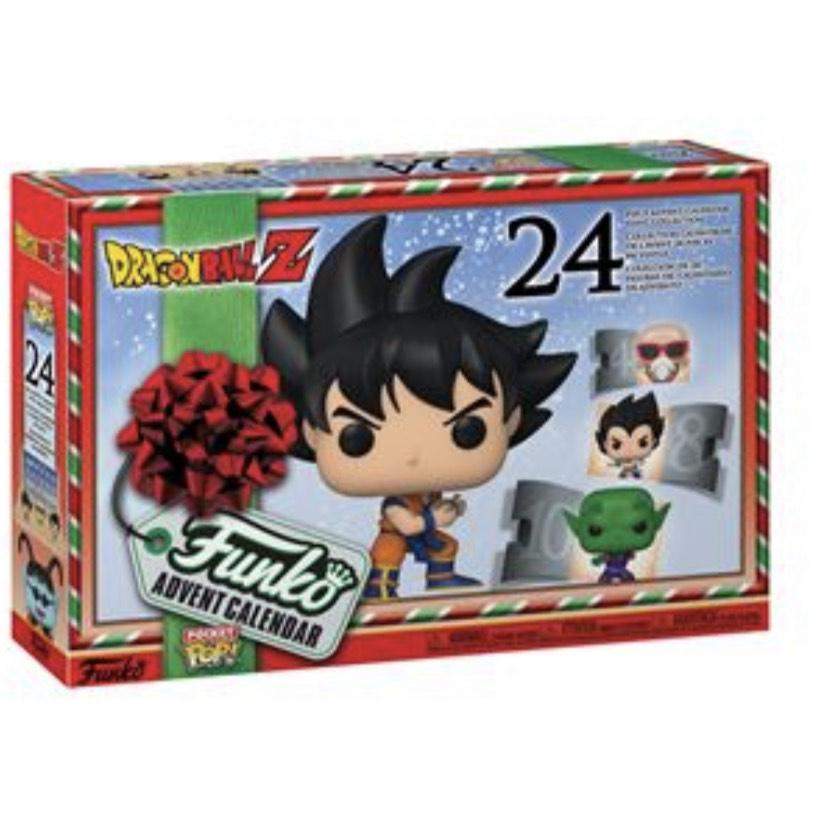 Calendrier de l'Avent Funko Pop! Dragon BallZ - 24 pièces (via retrait en magasin)