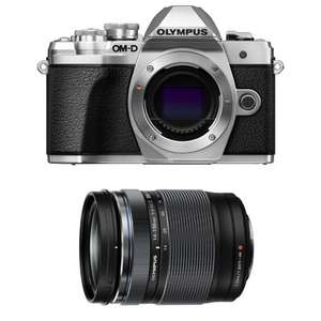 Appareil Photo Olympus OM-D E-M10 III Silver + 14-150 (provencephotovideo.com)