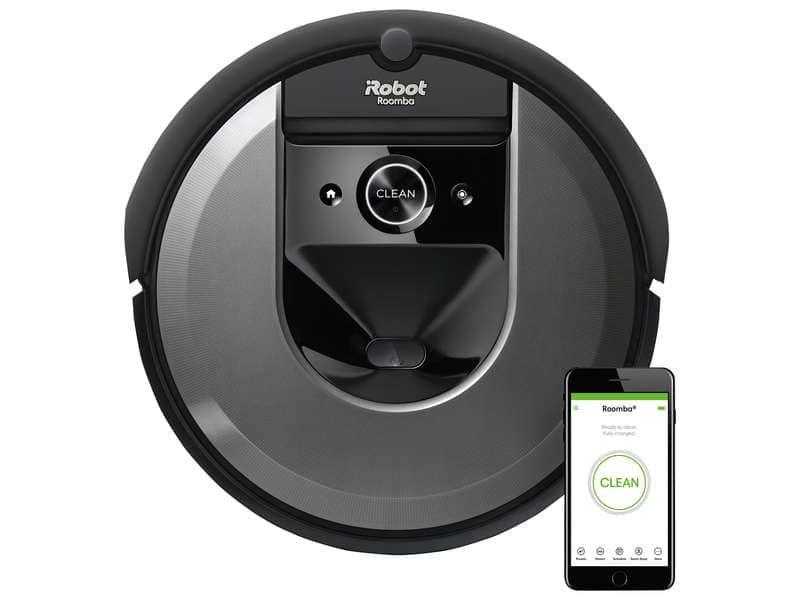 Aspirateur robot connecté iRobot Roomba i7