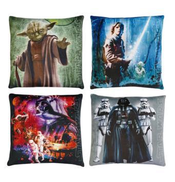 4 coussins Star Wars (36 x 36 cm)