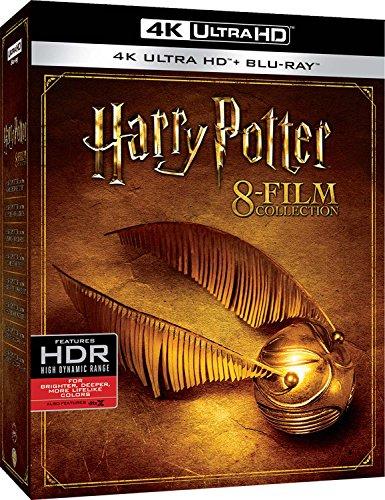 Coffret Blu-Ray 4K UHD Harry Potter - L'intégrale des 8 Films (Import Italie)