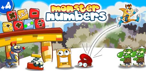 Application Nombres monstres : Jeux de maths gratuite sur Android & iOS