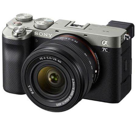 Appareil Photo Sony Alpha A7C (boîtier) - Argent (matospascher.com)