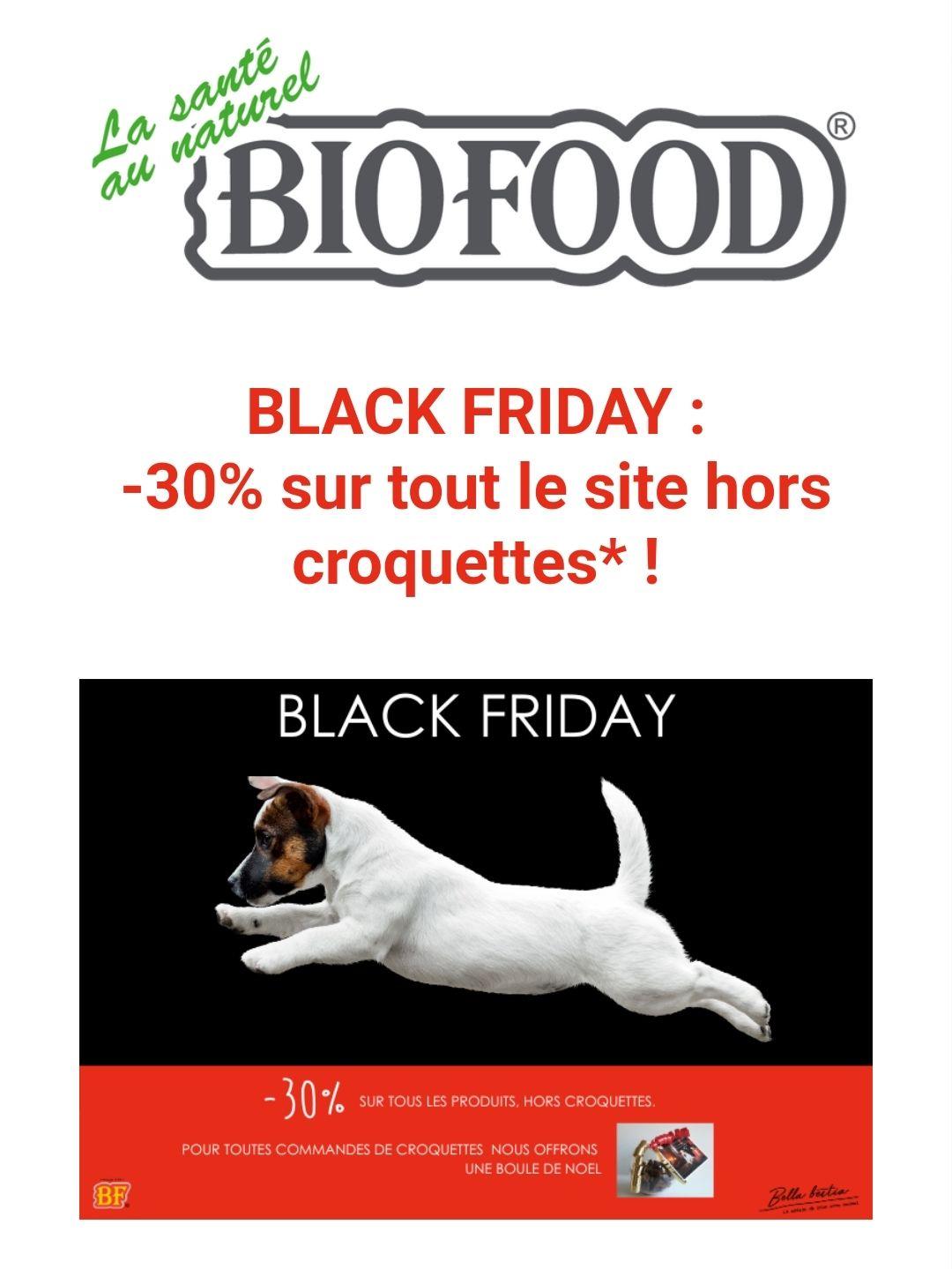 30% sur tout le site (hors croquettes) - BioFoodShop.net