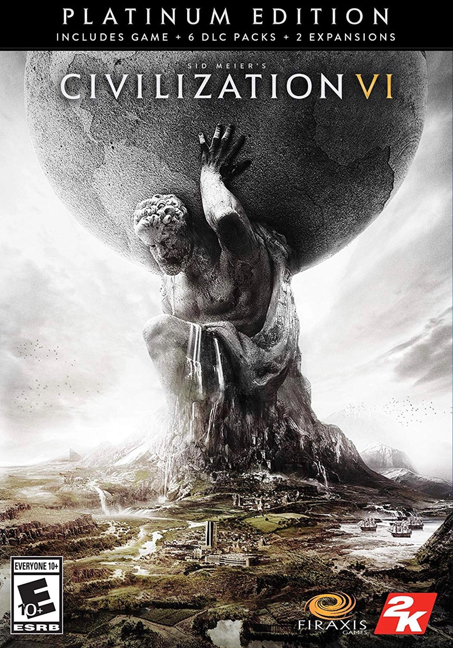 Civilization VI - Édition Platinum sur PC (dématérialisé)