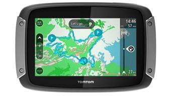 GPS Moto Tomtom Rider 400 Pack Premium