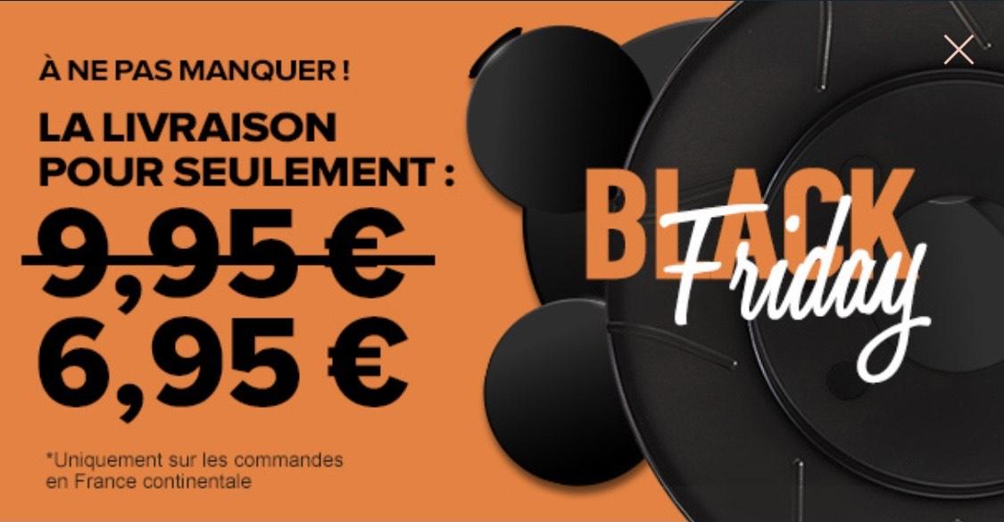 Frais de ports à 6.95€ au lieu de 9.95€
