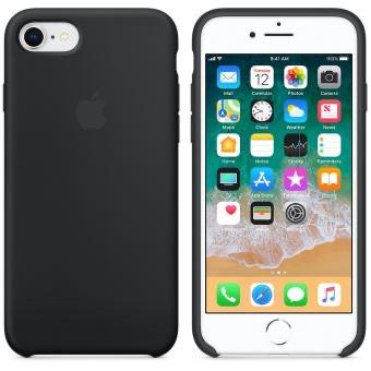 Coque Apple iPhone 7/8/SE en Silicone noir