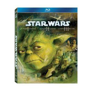 Les 2 coffrets Star Wars - Episode 1 a 6 en Blu-ray